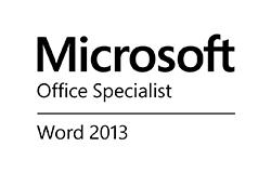 Zertifiziert Microsoft Office Specialist Word 2013