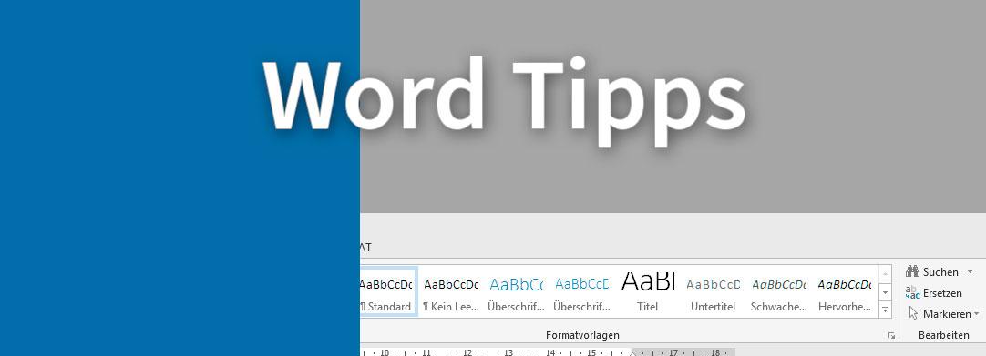 MS Word Tipps und Tricks